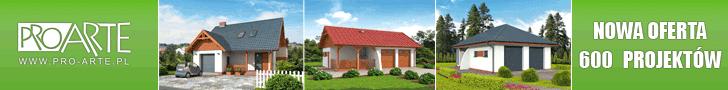projekty domów i garaży PRO ARTE